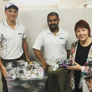 Matrix Insurance Perth help the Homeless Connect
